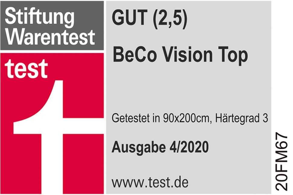 BeCo Vision Top Stiftung Warentest